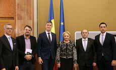 Dăncilă, după discuţia cu cei de la USR: Întrevederea a avut loc ca urmare a apelurilor premierului la pace politică, dialog şi consens