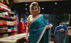 Gina Pistol îndrăgostită de sari-urile indiene
