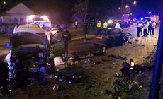 Grav accident la Iași. Un mort și cinci răniți după coliziunea unui Audi cu un VW |VIDEO