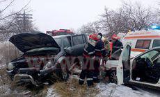 Primarul din Huși, rănit într-un accident. Mergea la vânătoare, în Vaslui