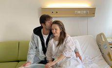 Cine a mers la Adela Popescu imediat după ce a născut. Fericire maximă pe holurile spitalului