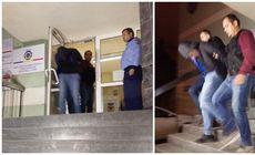 Primele imagini cu atacatorul din Timișoara, care a intrat cu o macetă într-un cazinou. Bărbatul a fost reținut, după mai multe ore de audieri
