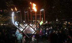 FOTO | Sărbătoarea de Hanuka la București! Cine a participat la eveniment