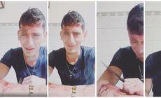 Un tânăr din Timișoara a făcut live pe Facebook și a scos un cuțit. Cine l-a urmărit, s-a îngrozit