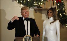 Donald și Melania Trump, nominalizați la premiile Zmeura de Aur