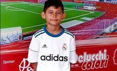 """GALERIE FOTO & VIDEO / Povestea lui Giacomo, 11 ani: refuzat în Timișoara, primit la Real Madrid. """"Fotbal pe 2%!"""""""