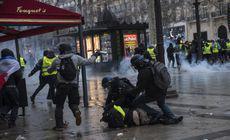 """Președintele Franței, discurs mult-așteptat după protestele """"vestelor galbene"""""""