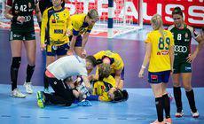 FOTO | Cum arată piciorul drept al Cristine Neagu, după accidentarea din meciul cu Ungaria