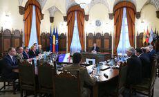 UPDATE. Şedinţa CSAT, suspendată de preşedintele Iohannis, după discuţii prelungite. Se reia pe 19 decembrie