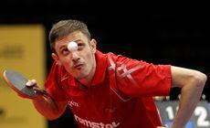 VIDEO | CM de tenis de masă de la Budapesta. Ovidiu Ionescu, în sferturi la dublu masculin. Azi, ora 19.00, pentru o medalie istorică