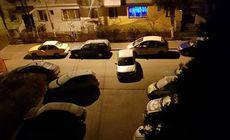 Cel mai ciudat mod de a parca mașina. Și-a bătut joc de o stradă întreagă