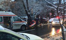 UPDATE: Bărbatul care s-a prăbușit pe stradă în apropierea sediului Guvernului a fost salvat