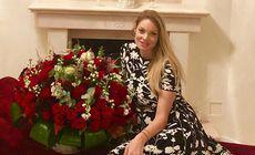 Valentina Pelinel are deja aproape tot ce-i trebuie pentru gemene! Biberoane și cărucioare în sistem barter!