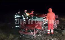 VIDEO | Accident grav provocat de un șofer beat în județul Constanța. Două persoane au murit