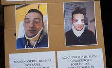 Cine e polițistul bătut de un om de afaceri pe care l-a amendat. Colegii s-au solidarizat cu el și au ieșit în stradă
