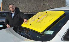 Caracatița din parbriz, o nouă metodă de blocare a mașinii pentru șoferii indisciplinați!