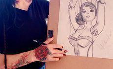 DJ Wanda face cursuri de desen la Londra
