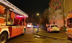VIDEO | O fată a amenințat că se aruncă de la etajul trei al unui bloc din Oradea! Se bănuiește că era drogată sau beată