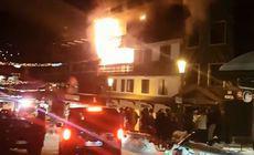 VIDEO | Incendiu într-o stațiune montană din Franța: Cel puțin 2 morți și 22 de răniți