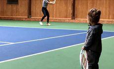 VIDEO/ Cel mai înfocat fan al Simonei Halep! Mesajul adorabil transmis de nepoata numărului 1 mondial, după meciul cu Venus Williams