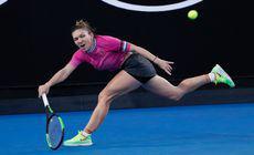 Simona Halep – Sofia Kenin, în turul II la Australian Open 2019. Startul, decalat pentru ora la 6.30
