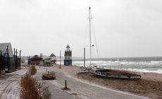 Fotoreportaj la malul mării:  Ce poți să faci iarna în Vama Veche?
