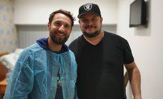 """Mihai Bobonete, vizitat de Dani Oțil la spital. """"Un om cu o țeavă în el şi cu un plămân în mână"""""""