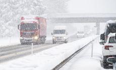 Vreme rece cu lapoviţă şi ninsoare, săptămâna viitoare, inclusiv în București. Când vor mai crește temperaturile