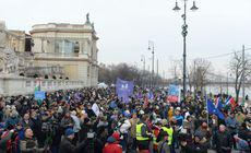 Proteste la Budapesta. Mii de oameni au ieșit în stradă împotriva legii care mărește orele suplimentare