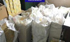 Peste 200.000 de țigarete de contrabandă, în valoare de 100.000 de lei, confiscate în Bihor