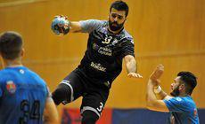 """CSM București – Dukla Praga 30-25, în Cupa Challenge la handbal masculin.  """"Tigrii"""" s-au calificat în sferturi"""