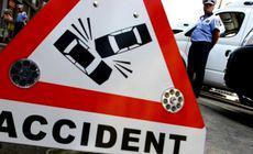 Accident grav pe DN1, în Ciolpani. Traficul este blocat