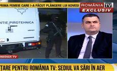 Alertă cu bombă la sediul televiziunii România TV. Autorul amenințării a fost identificat