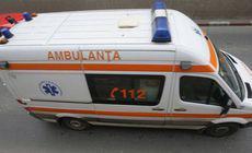 Accident cu 7 autovehicule implicate în zona Popasului Căprioara. Un bărbat a fost transportat la spital