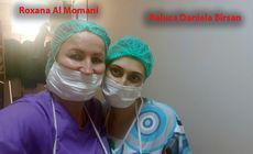 Roxana al Momani, medicul alături de care a operat falsul ginecolog Raluca Bîrsan, audiată la Poliție