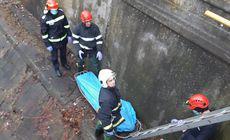 VIDEO | Corpul unui bărbat decedat a fost găsit într-o turbină din Târgu Mureș