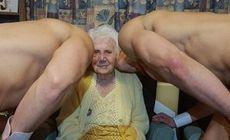 La 100 de ani, a petrecut cu stripperi. Surpriza hot pe care i-au făcut-o rudele | FOTO