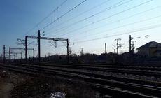Un paznic a fost spulberat de un tren la Constanța