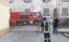 Incendiu la o grădiniță din Lugoj. În clădire se aflau 25 de copii
