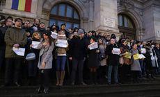 Judecătorii și procurorii au umplut treptele Palatului de Justiție de la București. Protestează față de OUG-urile lui Tudorel Toader |VIDEO