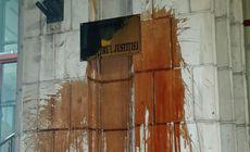 Reacția Ministerului Justiției după ce sediul instituției a fost vandalizat de protestatari
