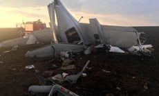 Un avion de instrucție s-a prăbușit la Tuzla! O persoană a murit și alta a fost rănită / VIDEO & FOTO