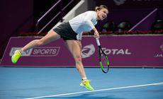Simona Halep e în finală la Doha! Românca a revenit senzațional, după ce a fost condusă cu 4-1 în setul decisiv!