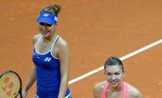 """Simona Halep, eliminată în """"sferturi"""" la Dubai. Belinda Bencic a mușcat mâna care a crescut-o"""