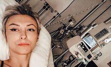 Mesajul Andreei Bălan, de pe patul de spital. Cât va mai sta internată