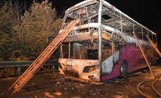 FOTO | Tragedie în China: Un autocar cu turiști a luat foc. 26 de persoane au murit, iar alte 30 au fost rănite
