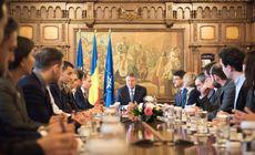 Klaus Iohannis începe consultările pe tema organizării referendumului pe Justiţie, în ziua alegerilor europarlamentare. Societatea civilă, primită la Palatul Cotroceni