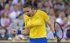 """Simona Halep a câștigat Heart Award 2019, premiul oferit celei mai """"inimoase"""" jucătoare din Fed Cup"""