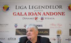 Meci de old boys Dinamo – Steaua, la 40 de ani de la debutul în Liga 1 al lui Ioan Andone (duminică, 14.20, TVR1). Fonduri donate Kassandrei Rotariu
