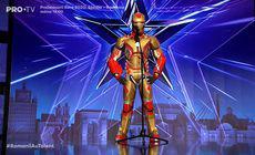 Iron Man pe scena de la Românii au talent. Cine se ascundea sub mască
